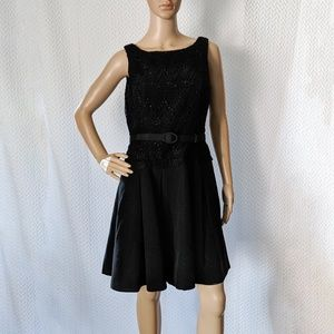 WHBM belted LBD with pockets